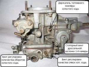 Как сделать регулировку карбюратора на ВАЗ-2101