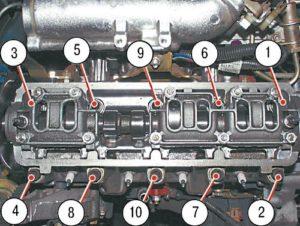 Как сделать замену прокладки ГБЦ на ВАЗ-2114