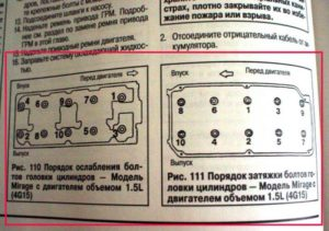 Правильный момент затяжки ГБЦ на ВАЗ-2106