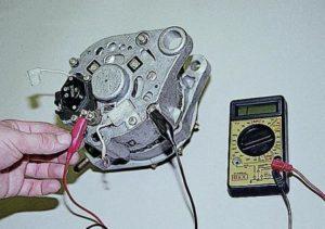 Что делать, если генератор ВАЗ-2110 выдает мало заряда?