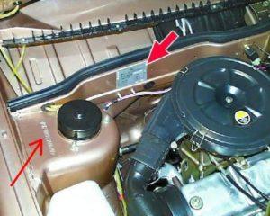 Где находится номер двигателя на ВАЗ-2114