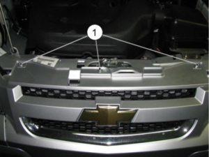 Как можно снять передний бампер на Шевроле Нива