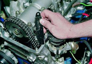 Как правильно натянуть цепь на ВАЗ-2107