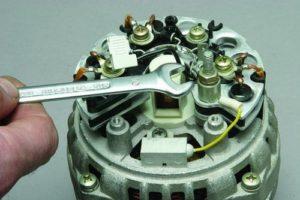 Как правильно разобрать генератор ВАЗ-2110