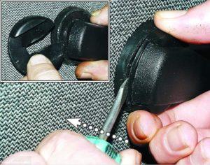 Как правильно снять ручку стеклоподъемника на ВАЗ-2107