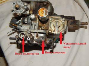 Как сделать регулировку карбюратора на ВАЗ-2107
