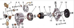Как сделать замену подшипника генератора ВАЗ-2110