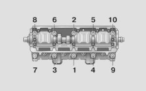 Правильный момент затяжки ГБЦ на ВАЗ-2108